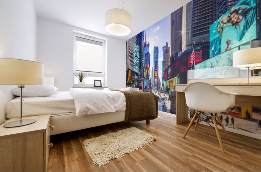 Times Square, New York City Mural print