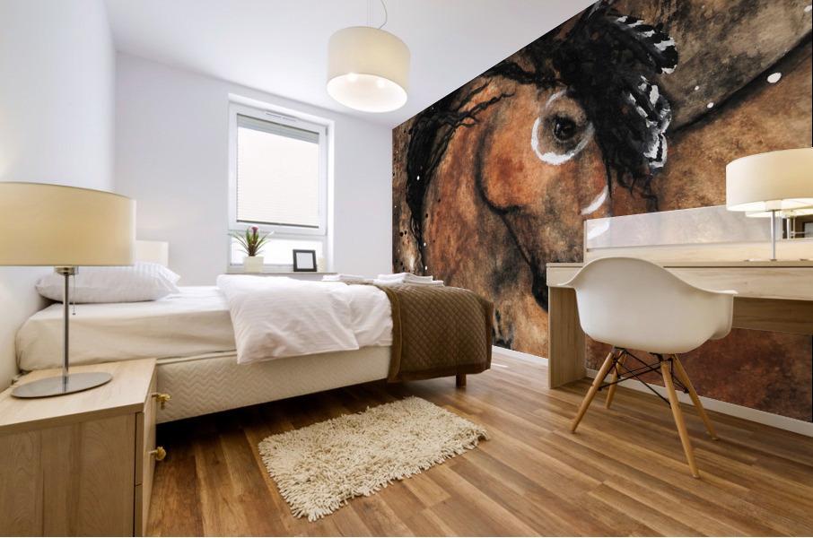 Spirit of Ancestors Horse Mural print