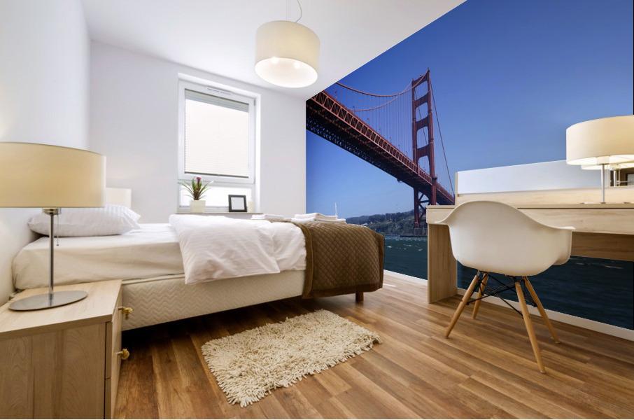 Golden Gate Bridge Mural print
