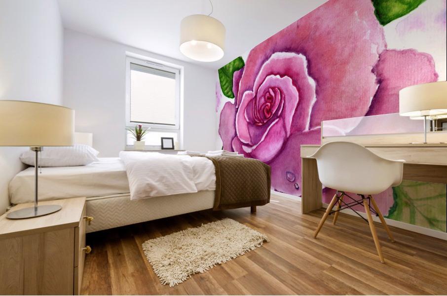 Magnificent Rose Mural print