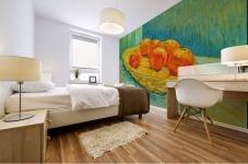 Six Oranges by Van Gogh Mural print