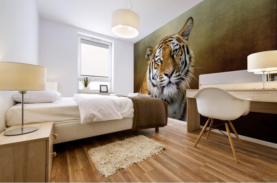 Bengal Tiger Mural print