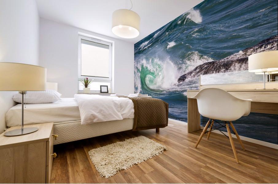 Wave Curl ap 2663 Mural print