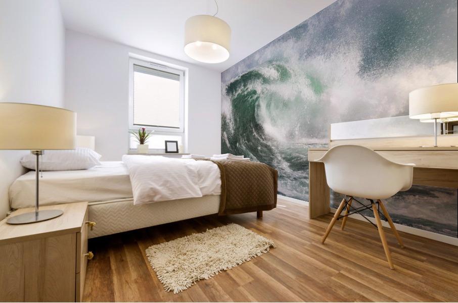 Wave Curl ap 2672 Mural print