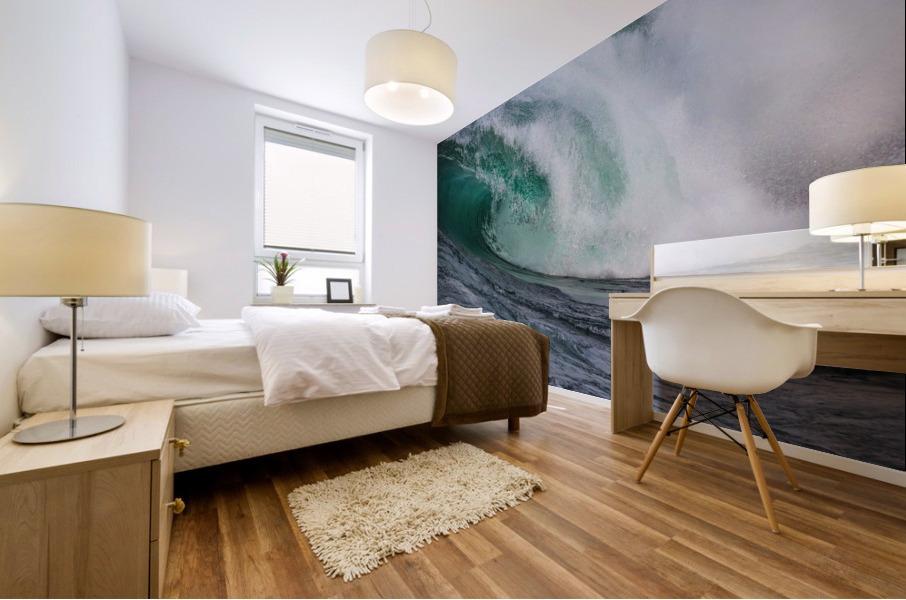 Wave Curl ap 2681 Mural print