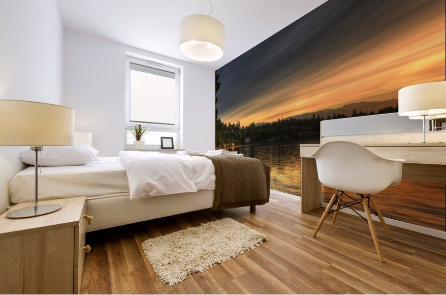 Before Sunset by Randy Hall Mural print