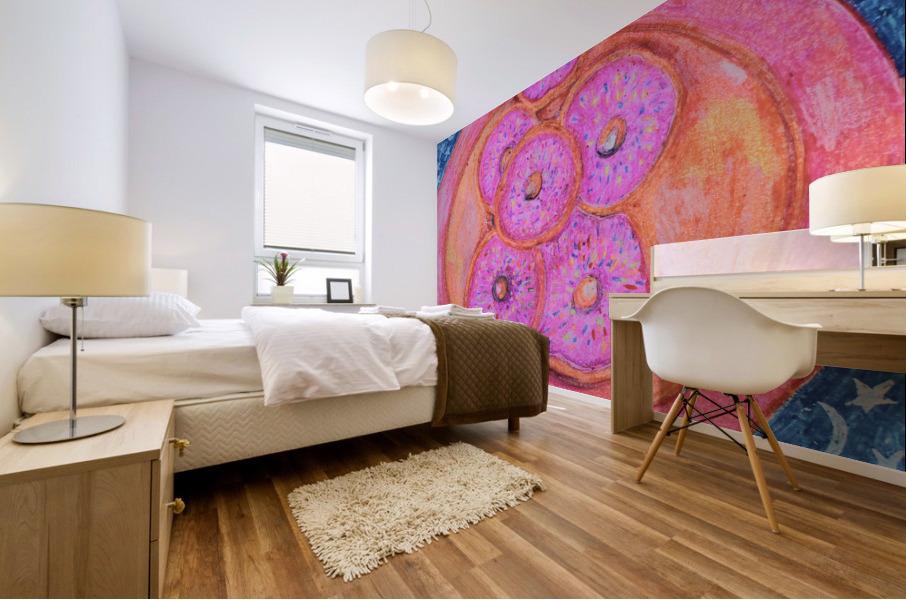 Pinkdoughnuts Mural print