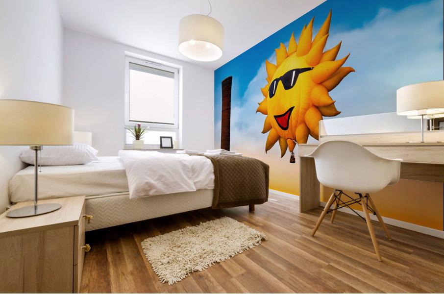 Sunny and the Smokestack Mural print