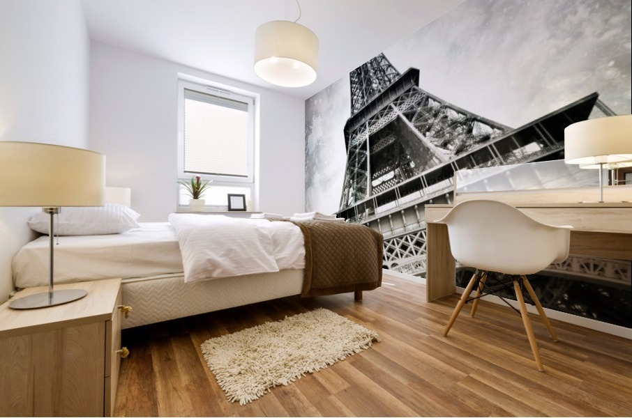 Modern-Art PARIS Eiffel Tower Splashes Mural print
