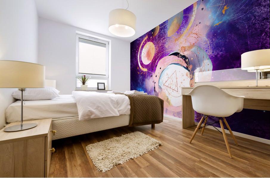 Dream Art XVIII - Cosmic World Mural print