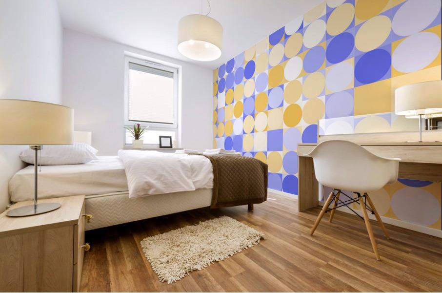 Geometric Art pattern Mural print