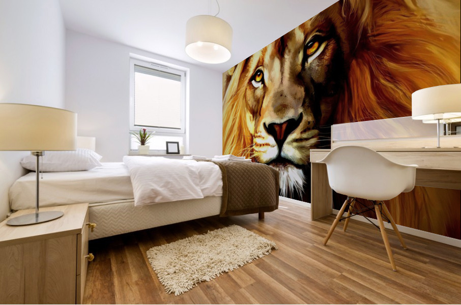 Majestic Beast  Mural print