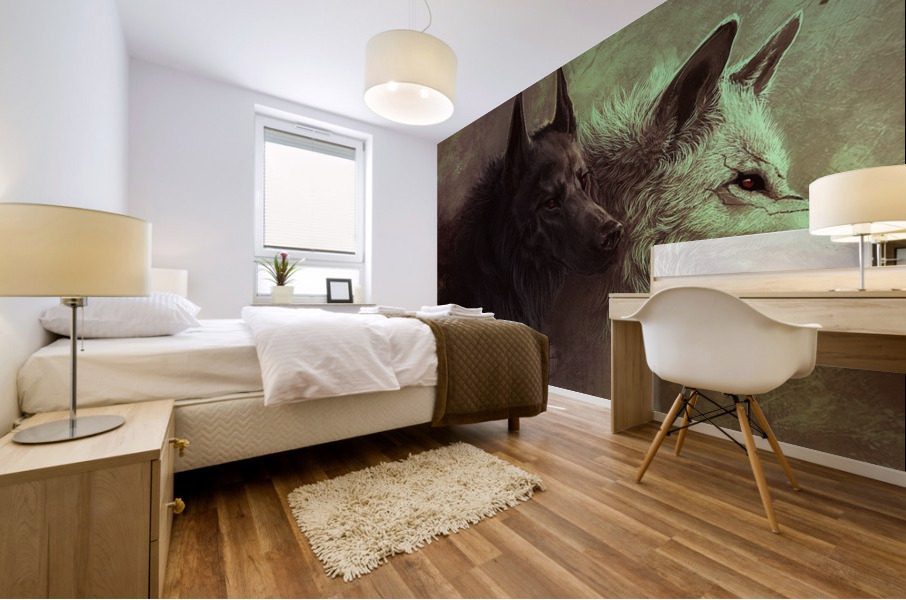 Call Of The Wild  Mural print