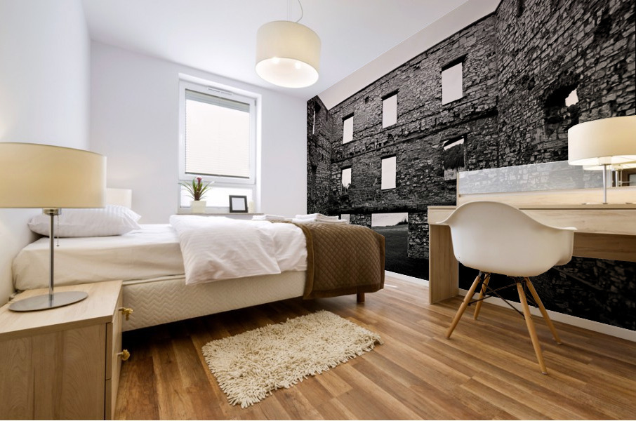 Stone Structure Mural print