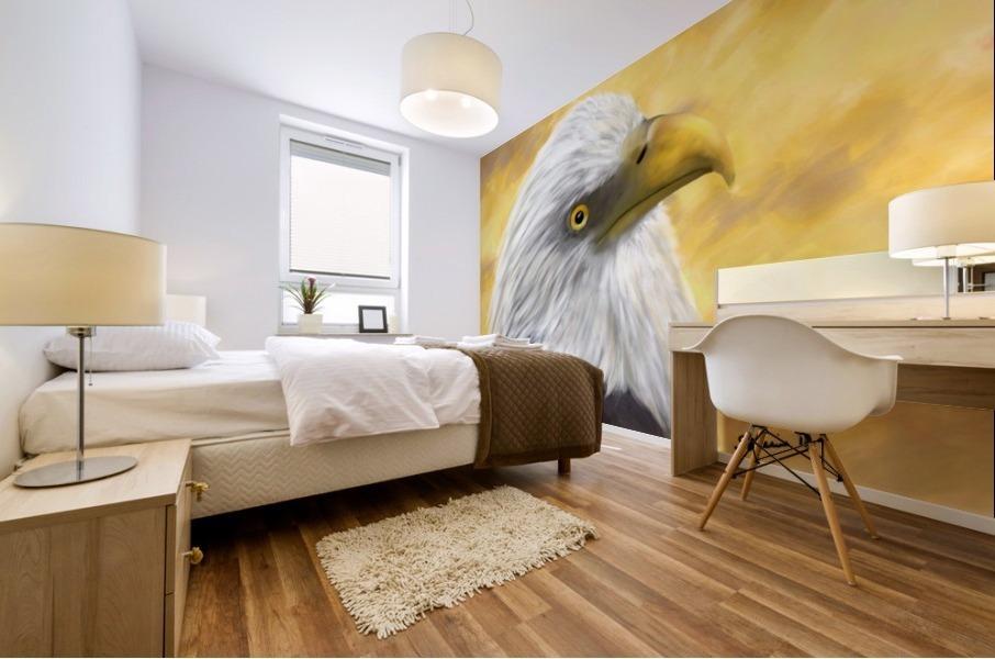 Proud Eagle Mural print