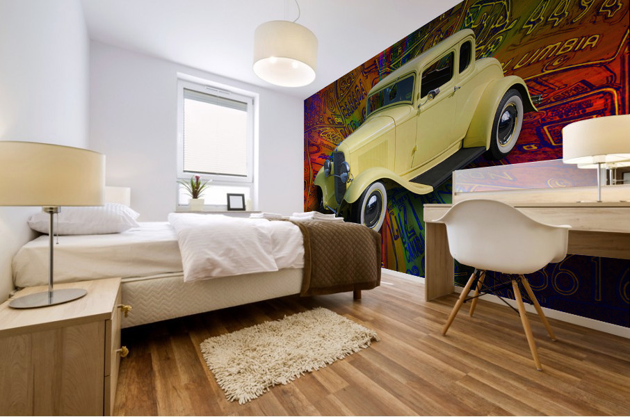 1932 Ford Coupe Mural print