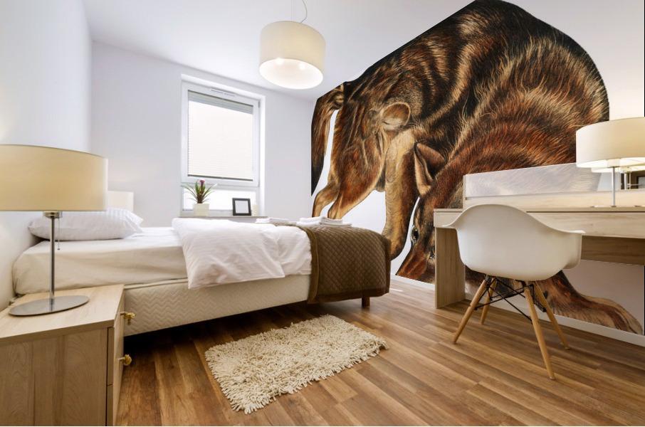 Fox Print | British Wildlife Art | A3 A4 A5 | Fox Lover Gift | Fox Illustration | Fox Painting | Fox Nursery Wall Art | British Animal Print Mural print