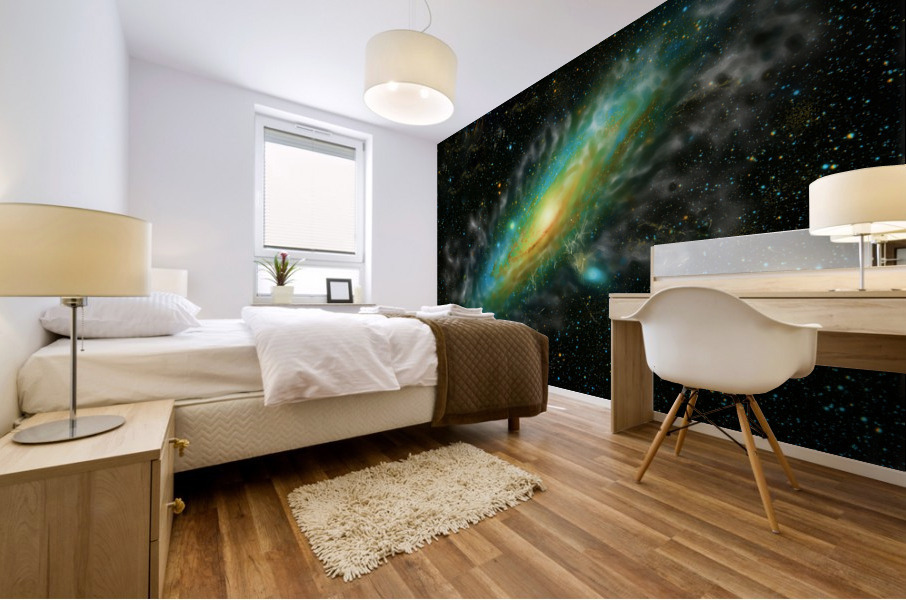 A Trillion Stars   Mural print