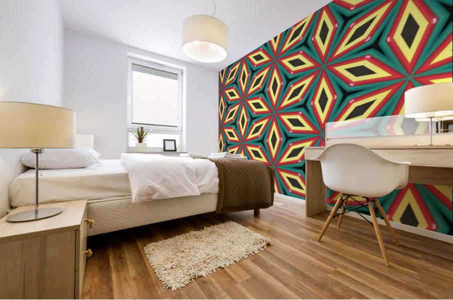 Colorful pattern Mural print