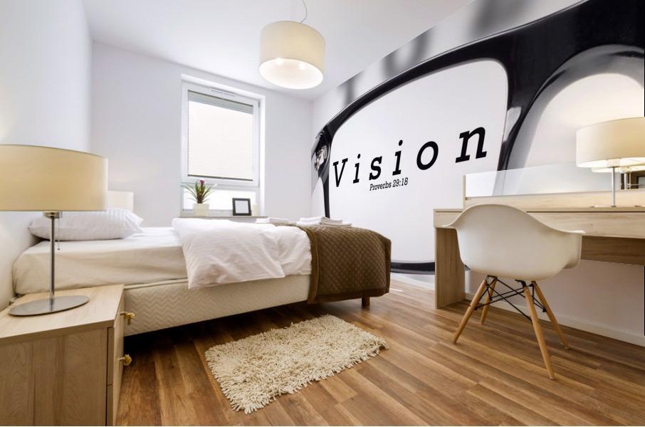 vision 2 Mural print