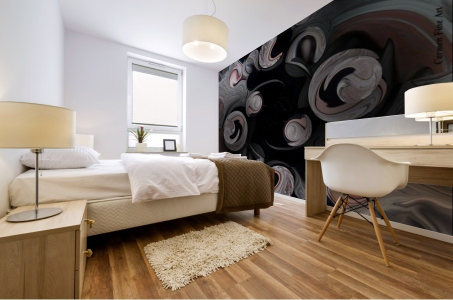 The Architectonic Projection Mural print