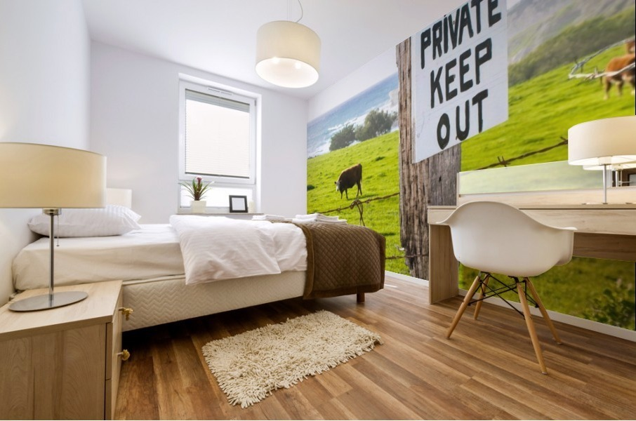 keepout Mural print