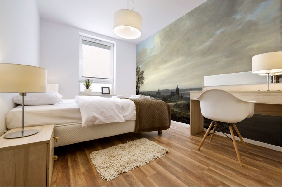 Panorama Landscape with a View of Arnhem Mural print