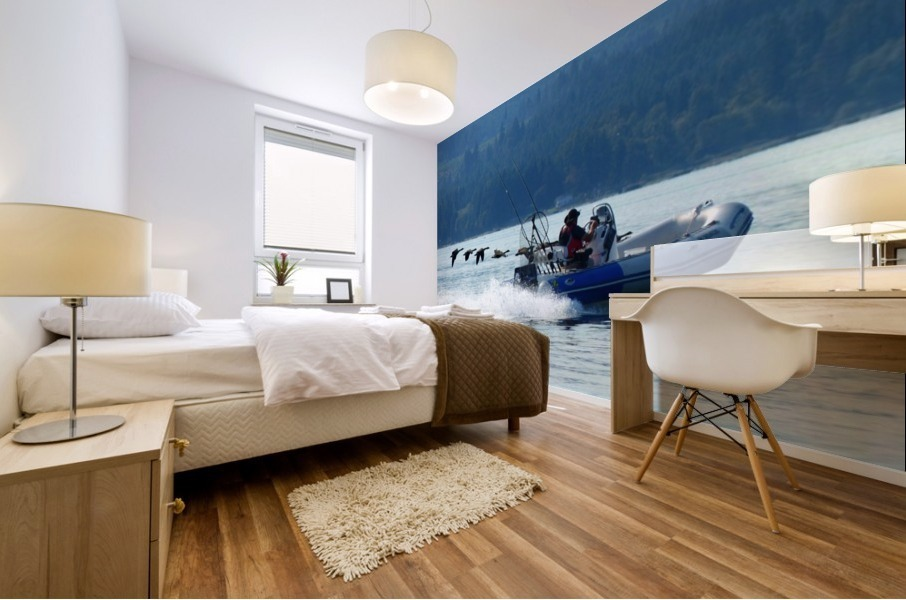 Fly By Mural print