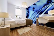Aqua Blue Mural print