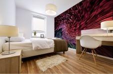 Color Wave Mural print