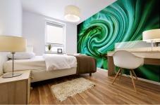 Flower Swirl Mural print