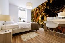 Just Golden Mural print