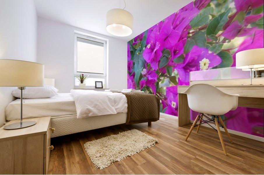 Purple Fusion Mural print