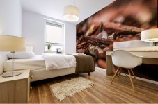 Wood Chips Mural print