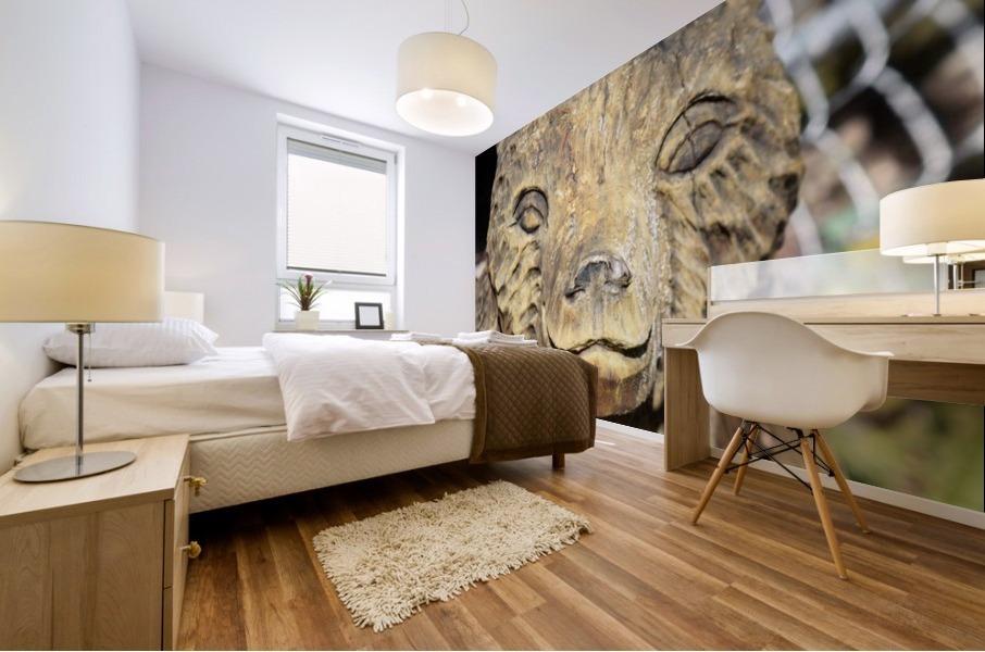 The Animal Totem  Mural print