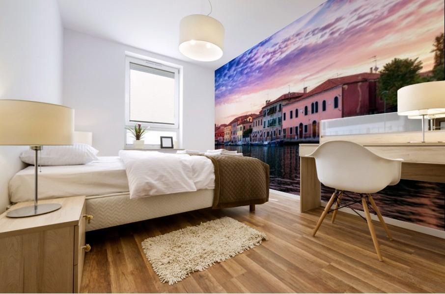 Murano Morning Mural print