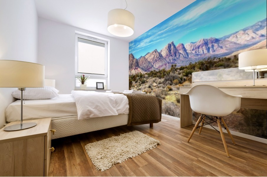 Red Rock Canyon Mural print