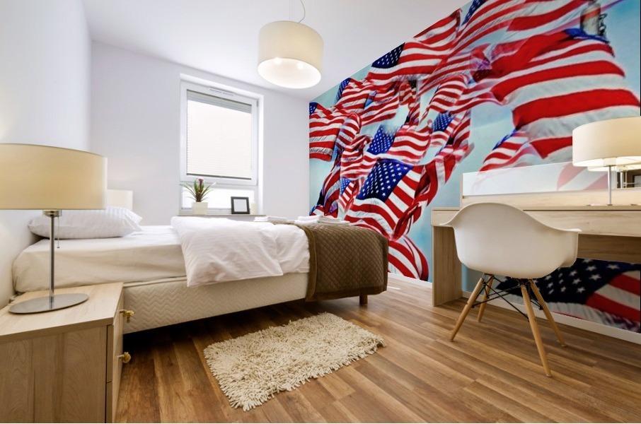 All American Mural print