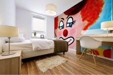 Masker, The sad Clown Mural print