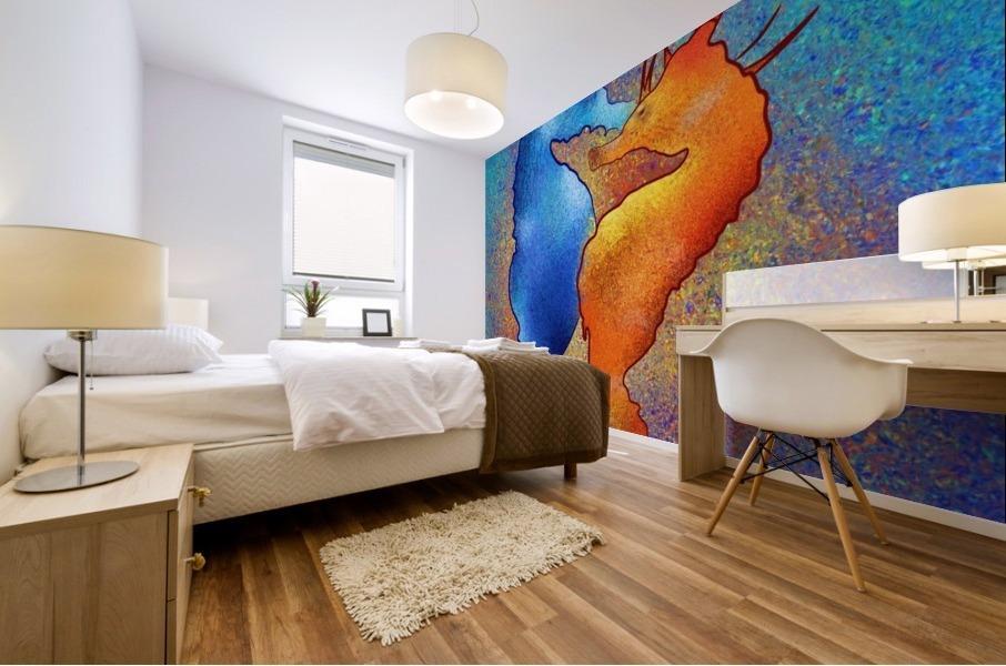 Tenimessa V1 - amazing seahorses Mural print