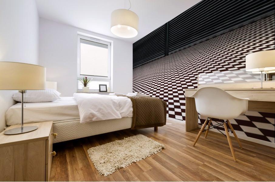 the hypnotic floor Impression murale