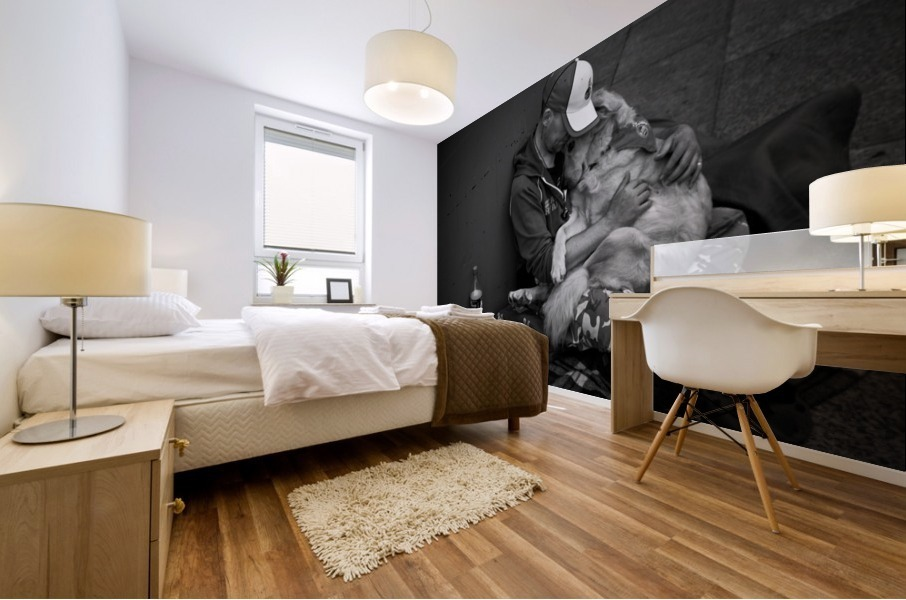Love Mural print