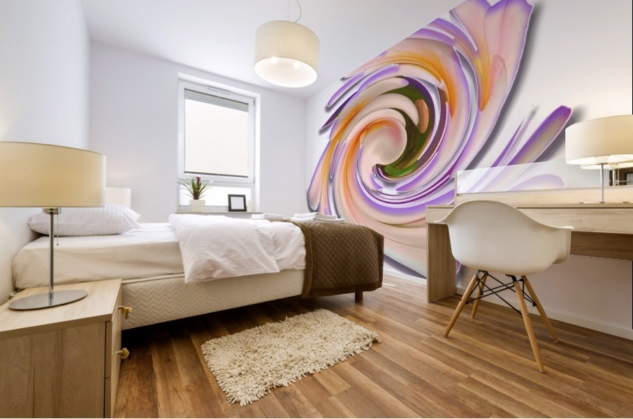 The whirl, W1.8A Mural print