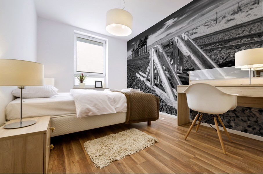 Refuelling Point  Mural print