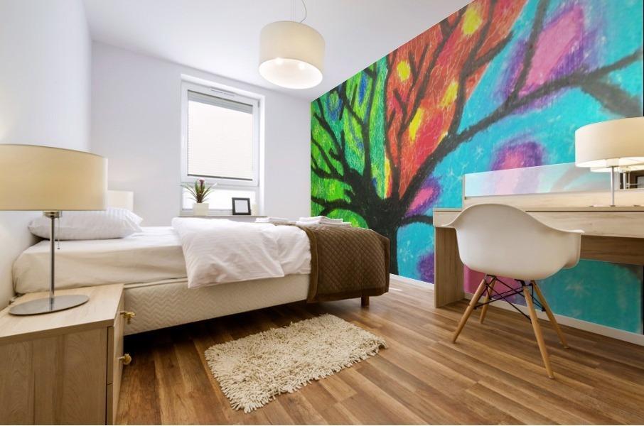 Four seasons  Impression murale
