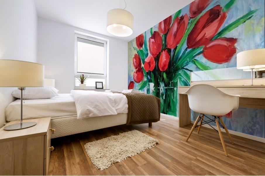 Тюльпаны Mural print