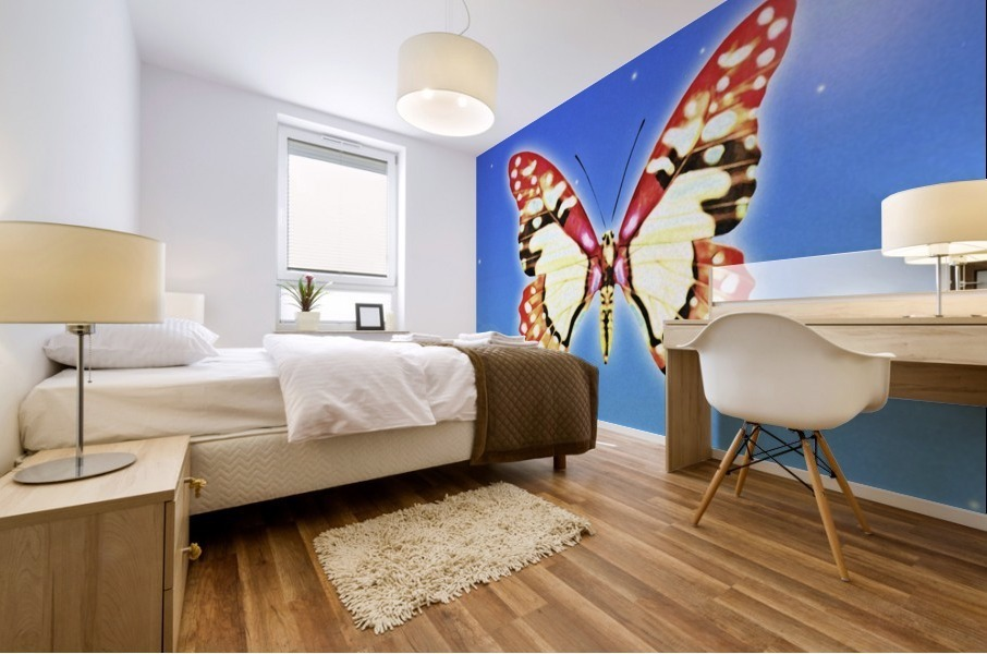 Butterfly Mural print