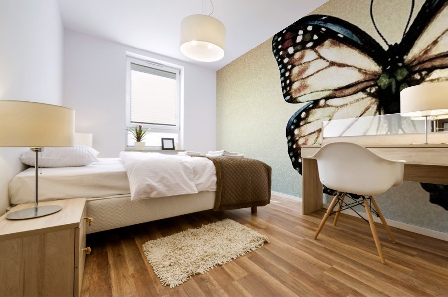 Artistic Butterfly Mural print