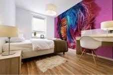Nicki Minaj Abstracto Mural print