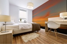 Amazing Sunset 1VP Mural print